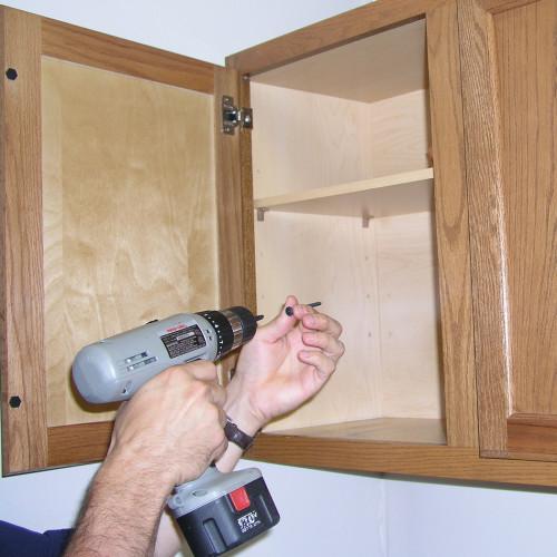 WALLDOG White Cabinet Mounting Screw (2-1/2