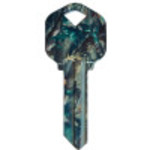 WacKey Real Camo Key Blank