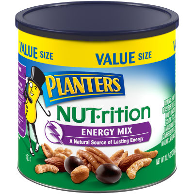 Planters NUT-rition Energy Mix 10.75 oz Canister