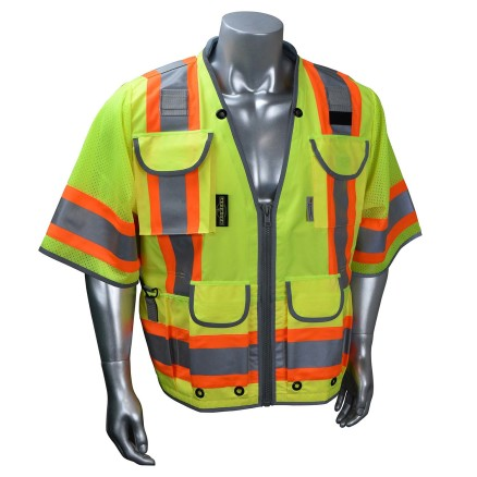Radians SV55-3 Class 3 Heavy Woven Two Tone Engineer Vest