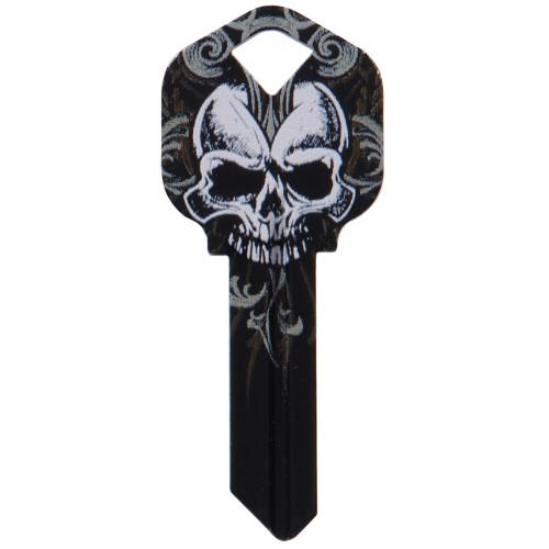 WacKey Black Skull Key Blank Kwikset/66 KW1