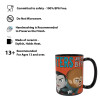 Little Monsters 15 ounce Coffee Mug and Spoon, Frankenstein and Friends slideshow image 6
