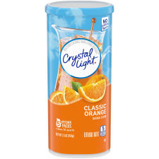 Crystal Light Classic Orange Drink Mix 5 count Canister