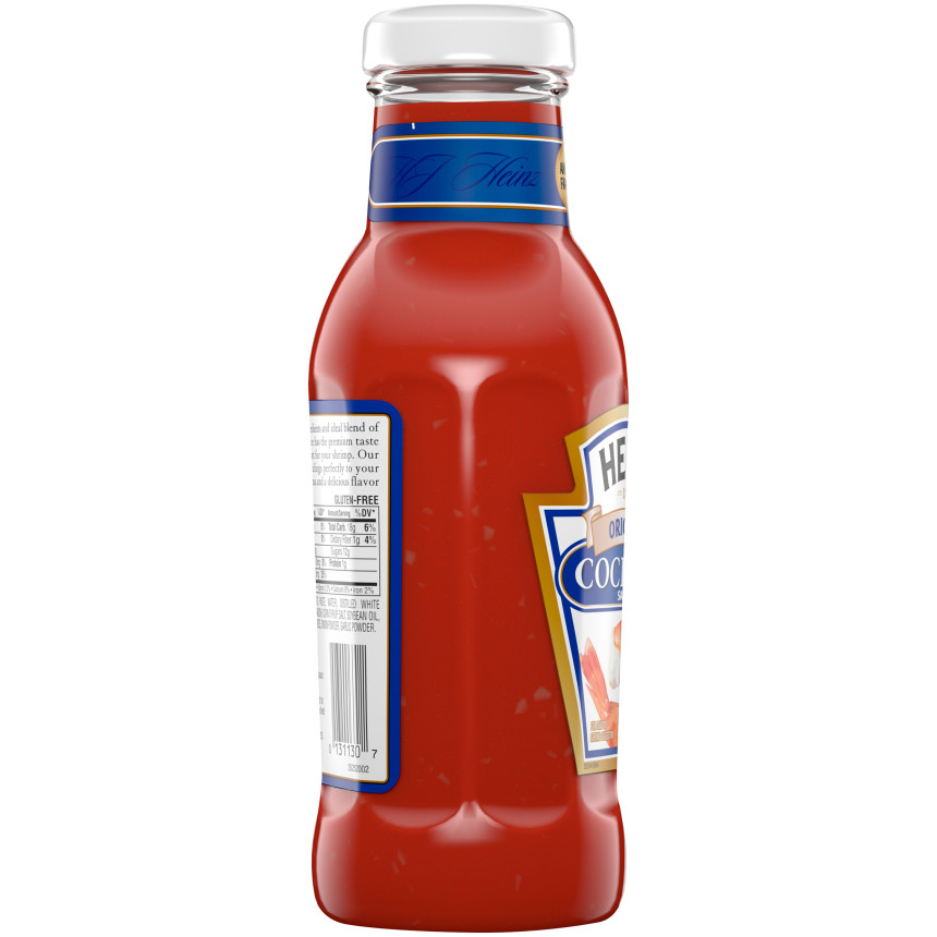 Heinz Original Cocktail Sauce, 12 oz Bottle