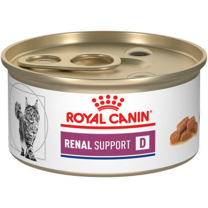 Renal Support D Thin Slices in Gravy Canned Cat Food (Packaging May Vary)