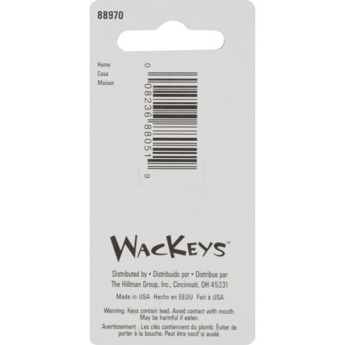 WacKey Home Key Blank Kwikset/66 KW1