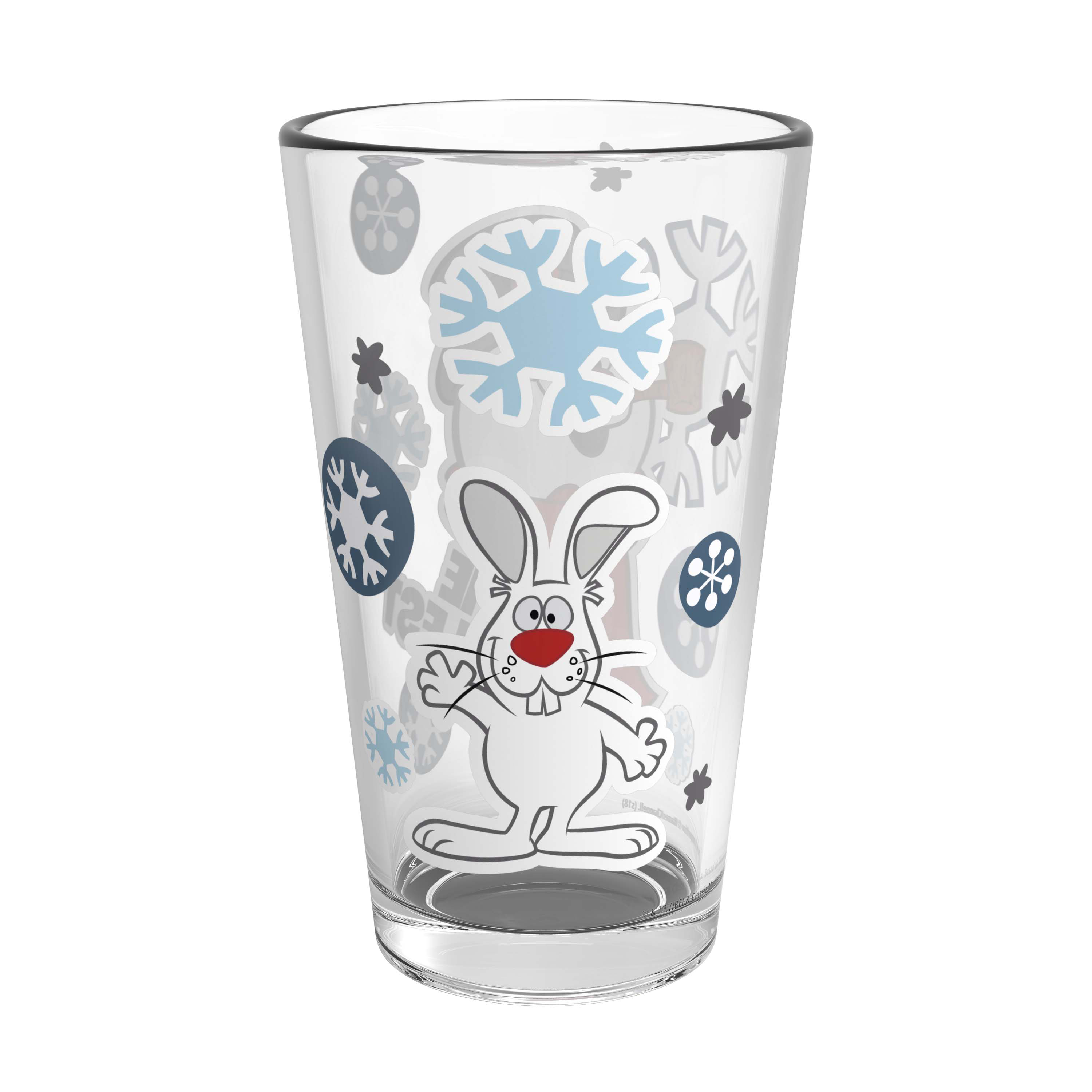 Christmas Collectibles 16 ounce Pint Glasses, Frosty the Snowman, 2-piece set slideshow image 6