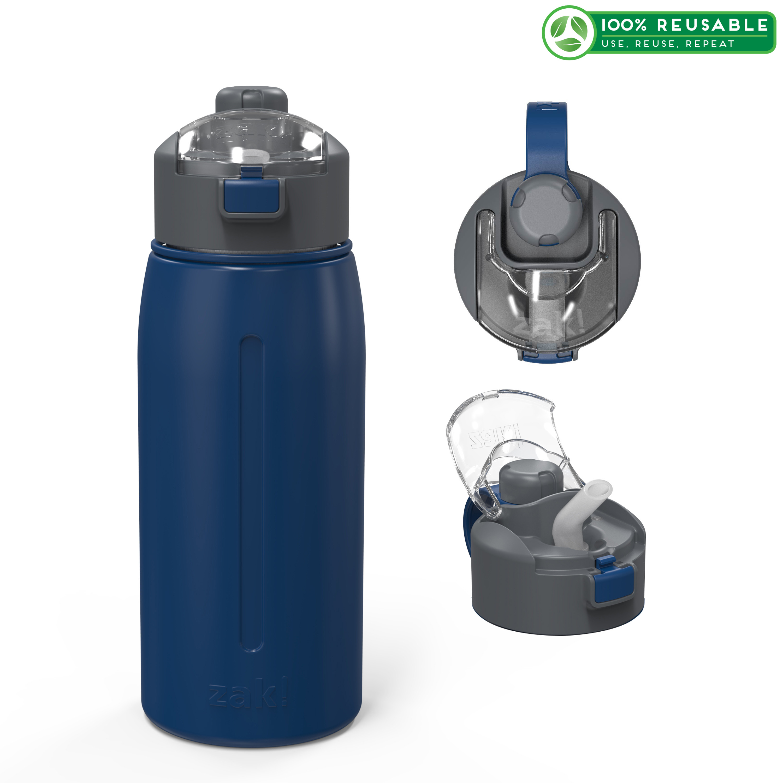 Genesis 24 ounce Vacuum Insulated Stainless Steel Tumbler, Indigo slideshow image 1