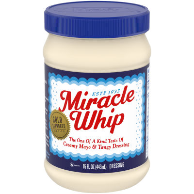 Miracle Whip Original Dressing 15 fl oz Jar