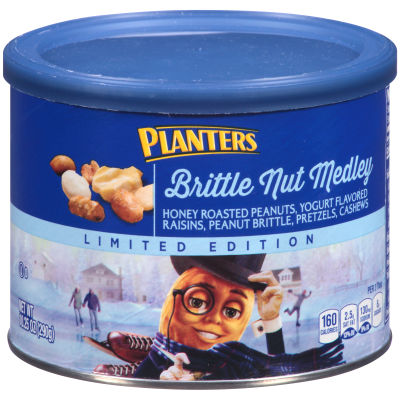 Planters Seasonals Brittle Nut Medley 10.25 oz Canister