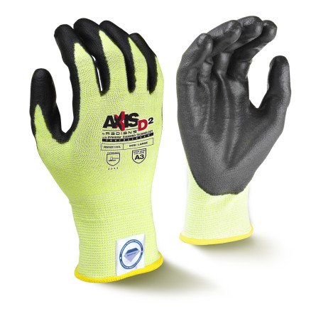 Radians RWGD100 AXIS D2™ Dyneema® Cut Protection Level A3 Touchscreen Glove