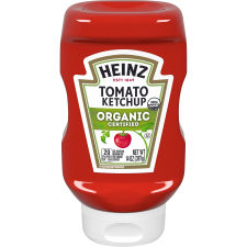Heinz Organic Tomato Ketchup, 14 oz Easy Squeeze Bottle