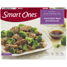 Weight Watchers Smart Ones Flavorful Asian Inspirations Asian-Style Beef & Broccoli 8 oz Box
