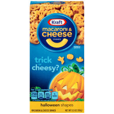 Kraft Macaroni & Cheese Dinner Halloween Shapes 24 - 5.5 oz Boxes