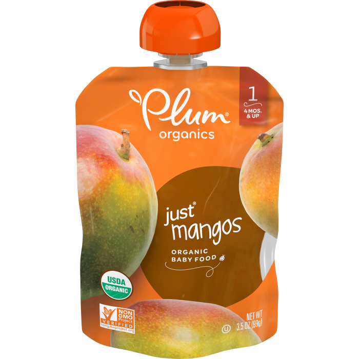 Mangos Baby Food