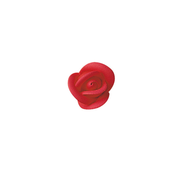 Red Large Classic Sugar Rose Decorations