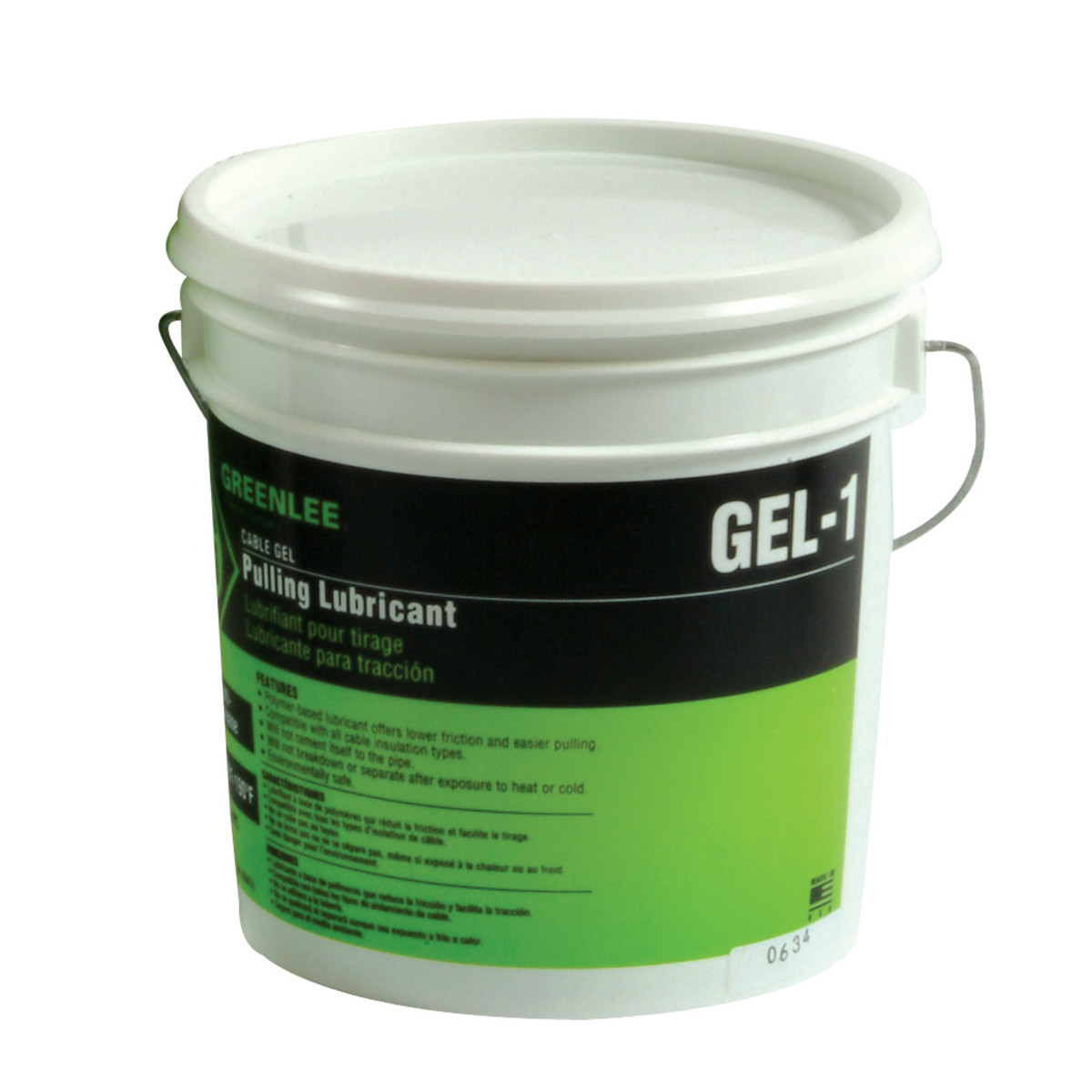 Greenlee GEL-1 Cable-Gel™ Cable Pulling Lubricant, 1-Gallon