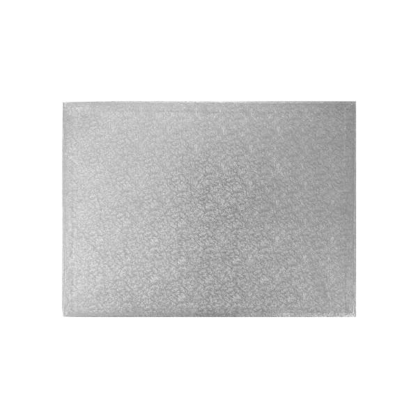 1/2 Sheet Silver Foil Cake Board