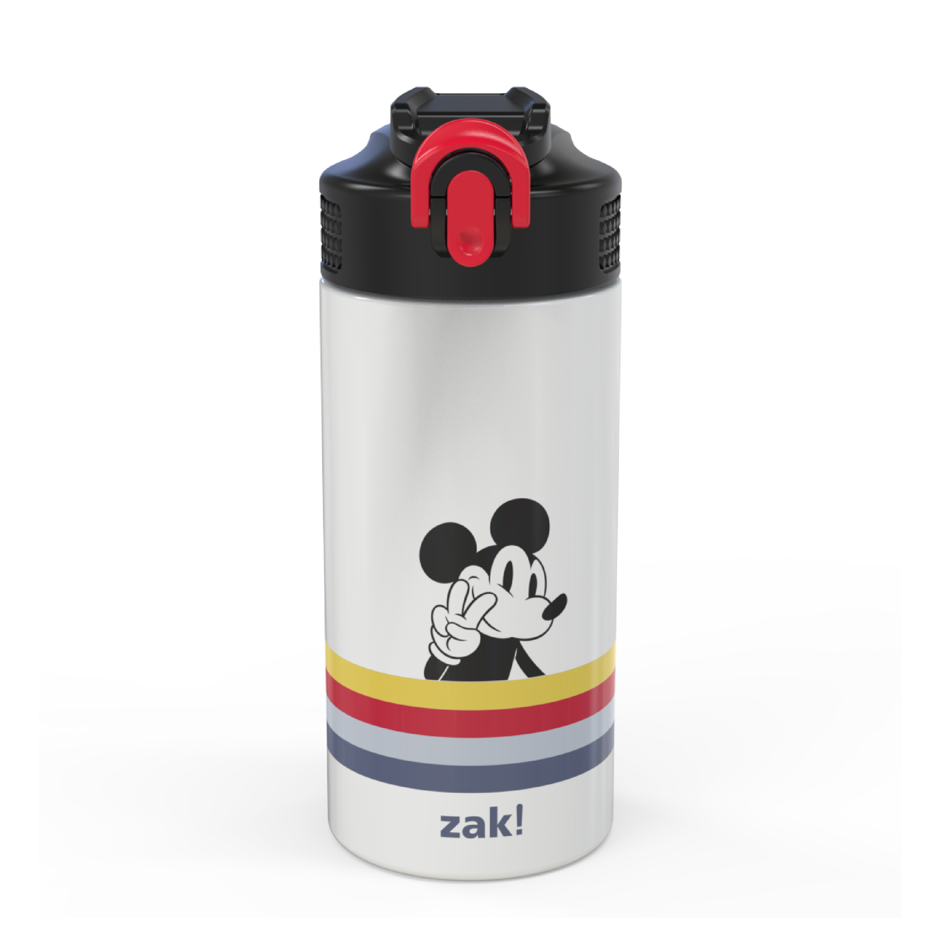 Disney 14 ounce Stainless Steel Vacuum Insulated Water Bottle, Mickey Mouse and Minnie Mouse slideshow image 1
