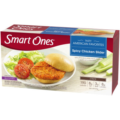 Smart Ones Spicy Chicken Sliders 2 - 2.45 oz Packs