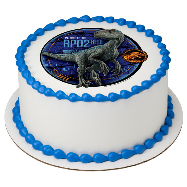 Jurassic World™ Fallen Kingdom Blue PhotoCake® Edible Image®
