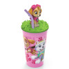 Paw Patrol 15 ounce Kid's Tumbler, Skye, 3-piece set slideshow image 6
