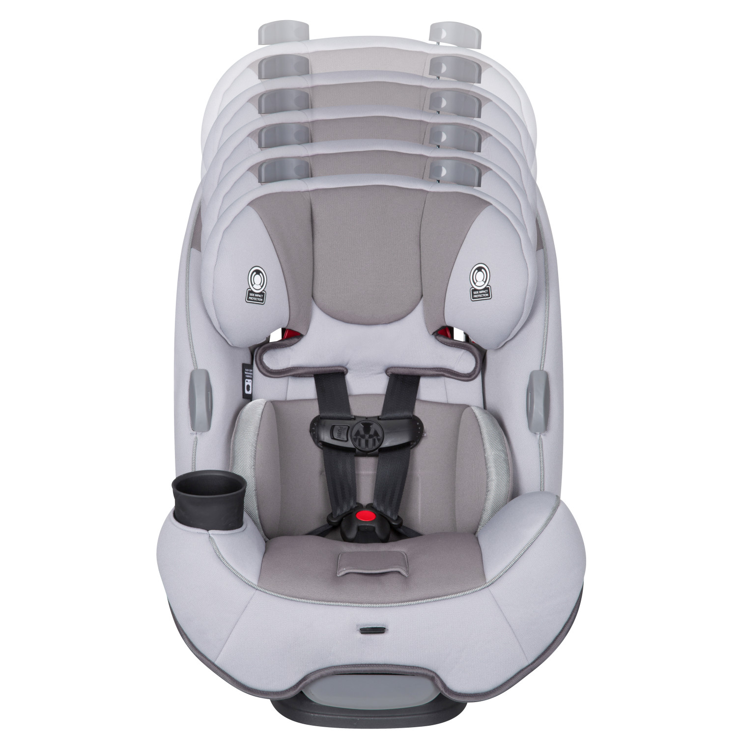 Safety 1st TrioFit 3-in-1 Convertible Car Seat, Cool Grey 2