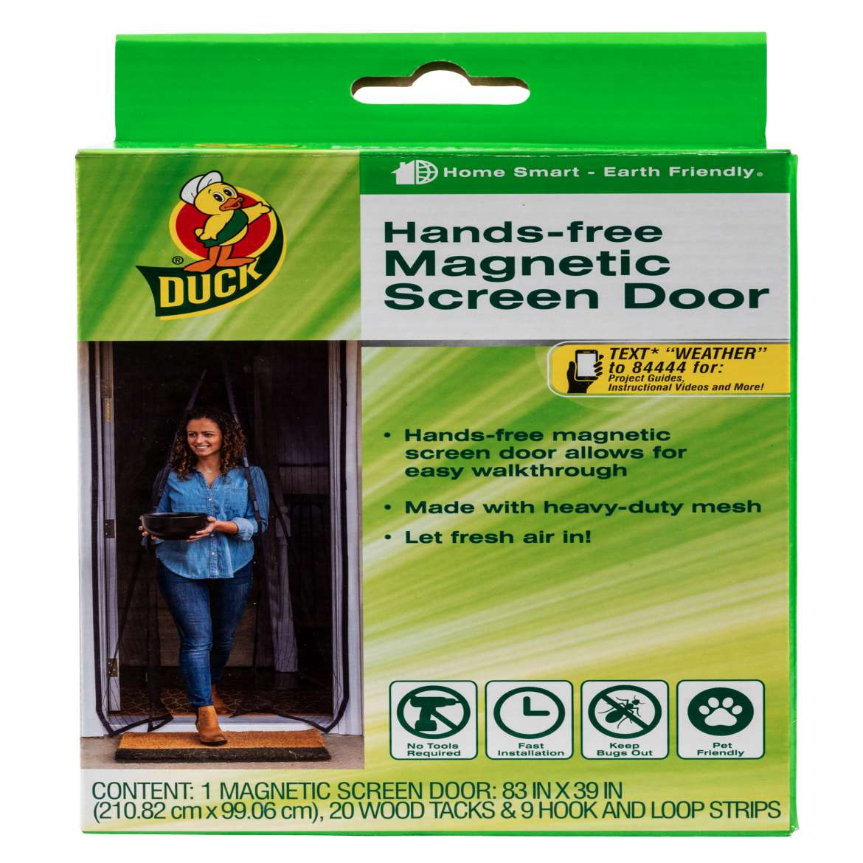 Duck® Hands-Free Magnetic Screen Door