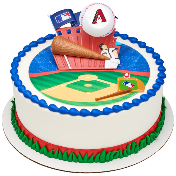 MLB® Home Run PhotoCake® Edible Image® DecoSet® Background