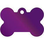 Purple Large Bone Quick-Tag