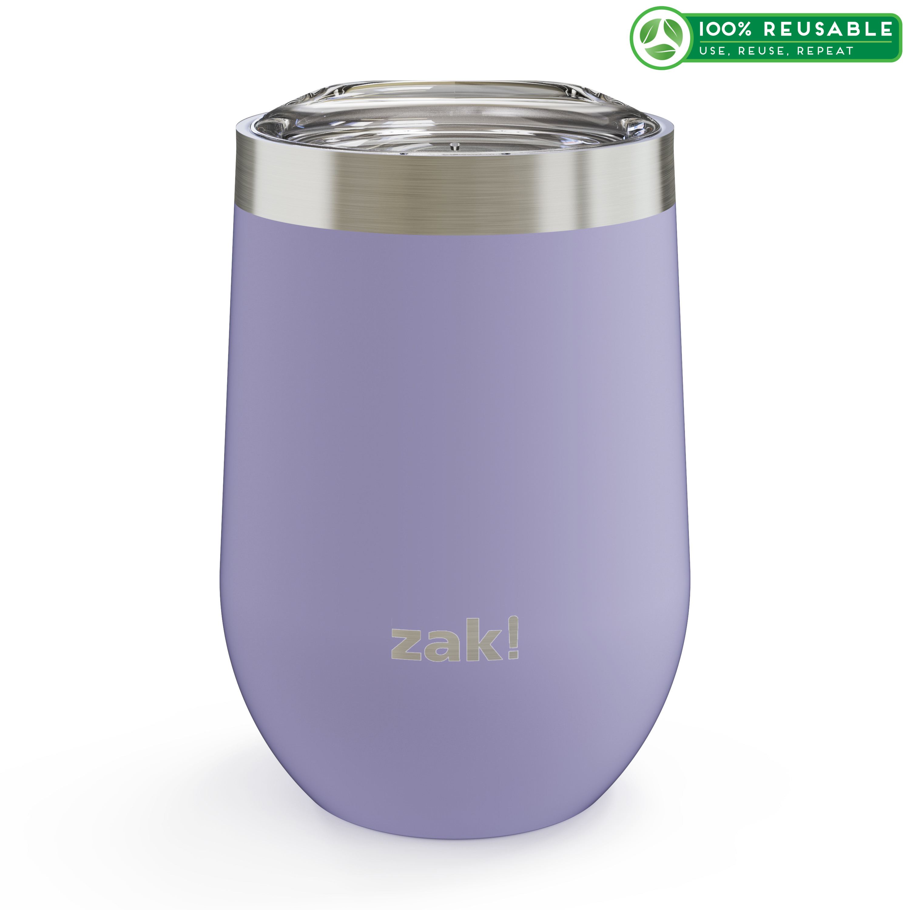 Palisades 11.5 ounce Vacuum Insulated Stainless Steel Tumbler, Iris slideshow image 1