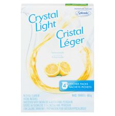 Crystal Light Pitcher Packs, Lemonade