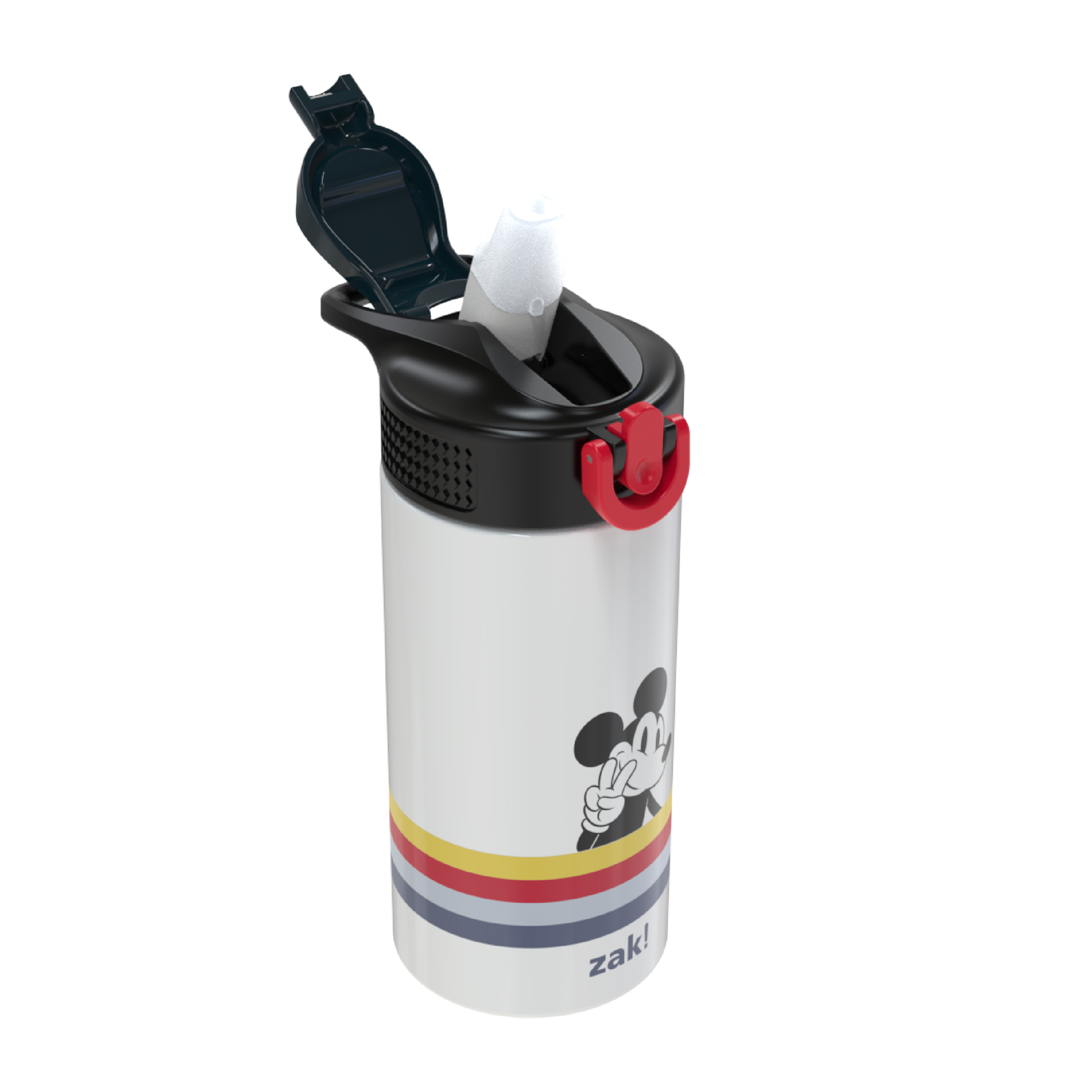Disney 14 ounce Stainless Steel Vacuum Insulated Water Bottle, Mickey Mouse and Minnie Mouse slideshow image 6
