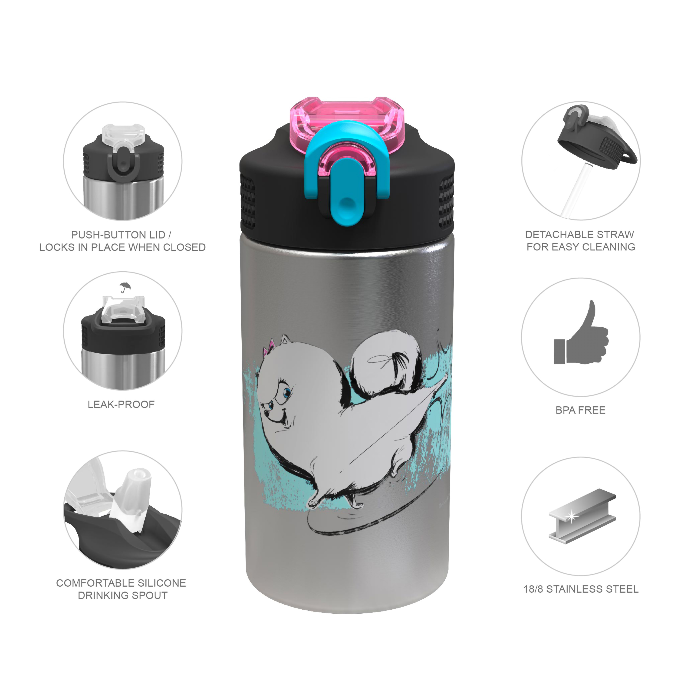 Secret Life Of Pets 2 15.5 ounce Water Bottle, Gidget slideshow image 7