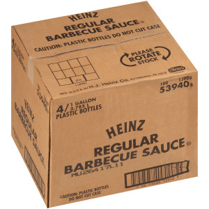 HEINZ Classic No. 4 Barbecue Sauce, 1 gal. Jugs (Pack of 4) image