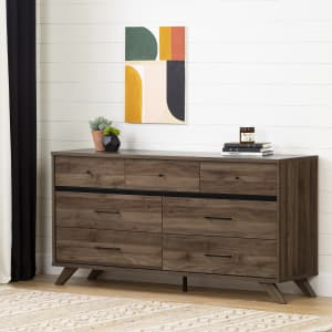 Flam - 7-Drawer Double Dresser