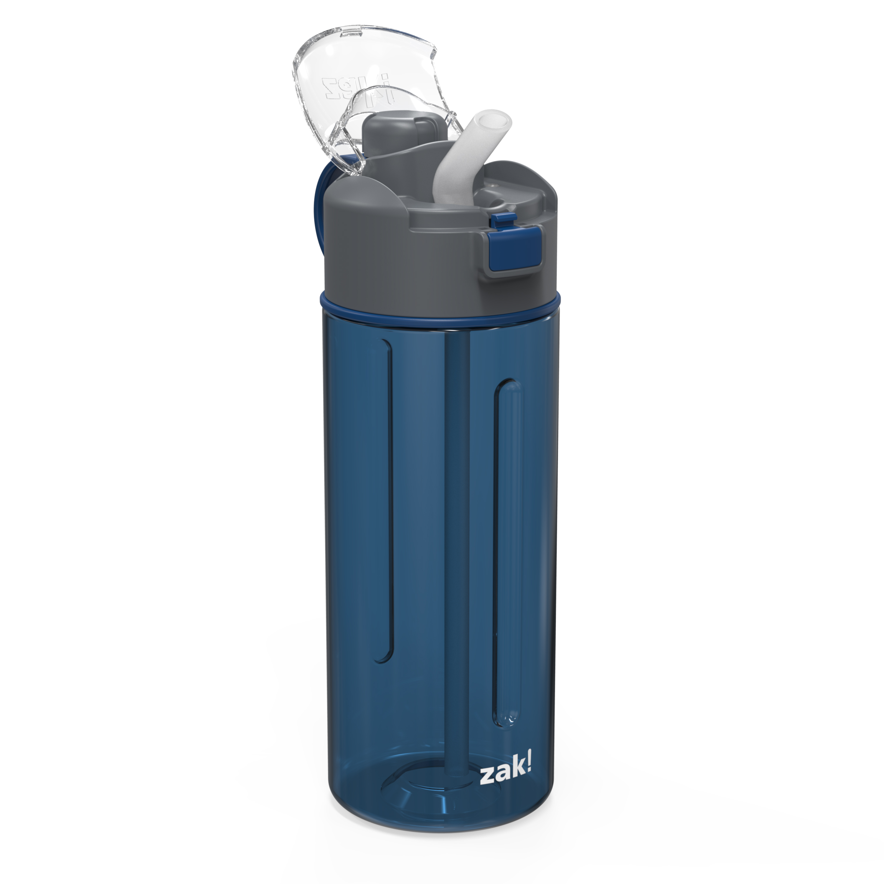 Genesis 24 ounce Water Bottle, Indigo slideshow image 6
