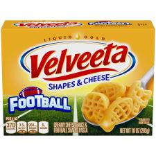 Velveeta Football Shapes & Cheese 10 oz Box