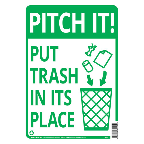 Pitch in Sign, 10
