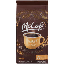 McCafe Hazelnut Ground Coffee, 12 oz Bag