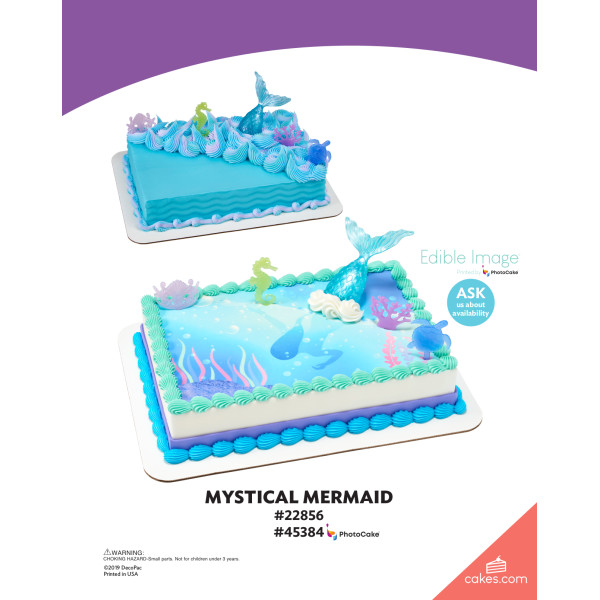 Mystical Mermaid DecoSet® The Magic of Cakes® Page