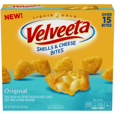 Velveeta Original Shells & Cheese Bites 18 oz Box