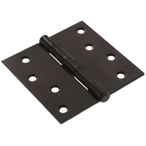 Hardware Essentials Residential Door Hinges with Removable Pin Black 4