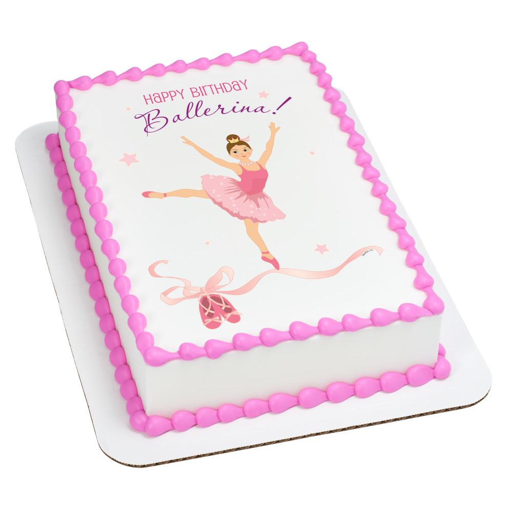 Birthday Ballerina Caucasian