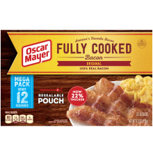 Oscar Mayer Original Fully Cooked Bacon 6.3 oz Box