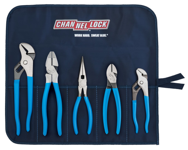 TOOL ROLL-5 5pc Professional Tool Set with Tool Roll