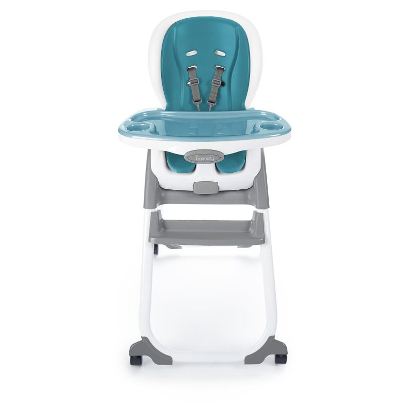 SmartClean™ Trio Elite 3-in-1 High Chair™ - Peacock Blue