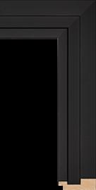 Shutter Black 2' 3/8