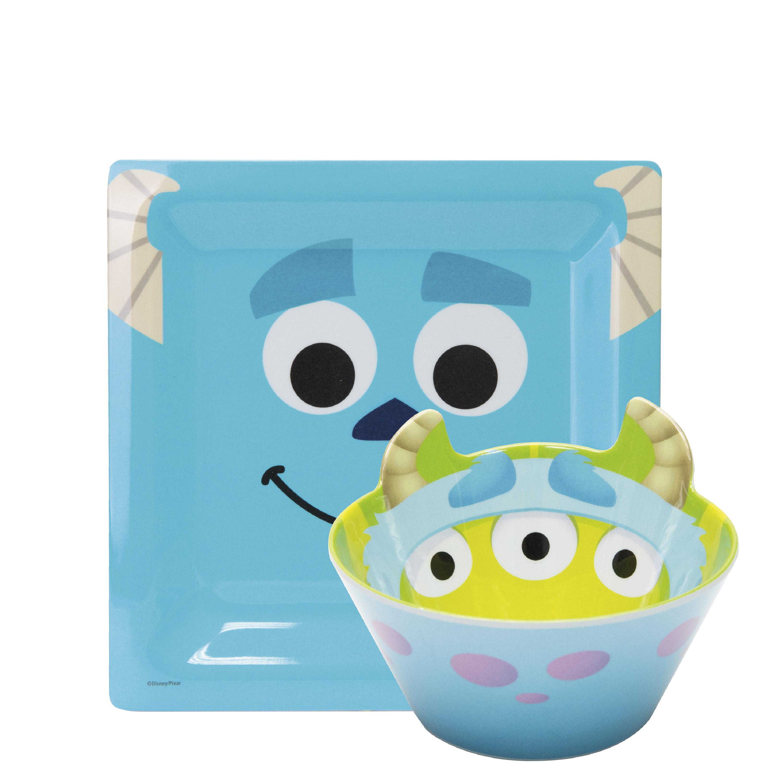Disney and Pixar Plate and Bowl Set, Sully, 2-piece set slideshow image 1