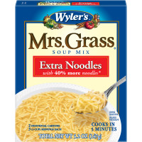 Wyler's(r) Mrs. Grass(r) Extra Noodles Soup Mix 5.2 oz. Box image
